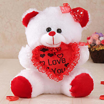 Red teddy bear images the best bear 2018 sweet teddy bear white wallpaper 11158 walldiskpaper thecheapjerseys Image collections