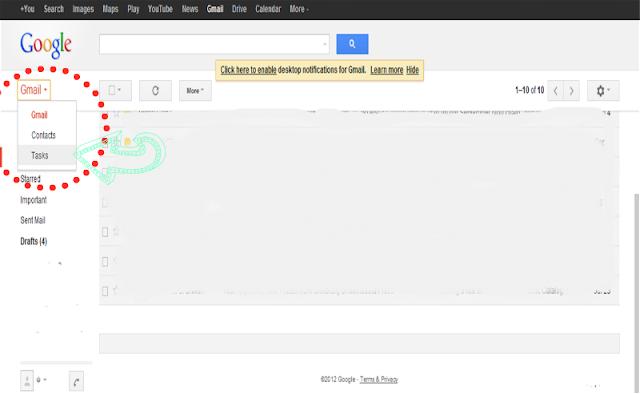 Google Tasks location