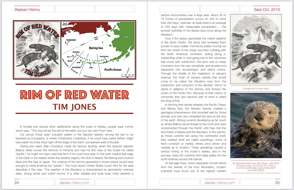 Alaska with attitude : Rim of Red Water