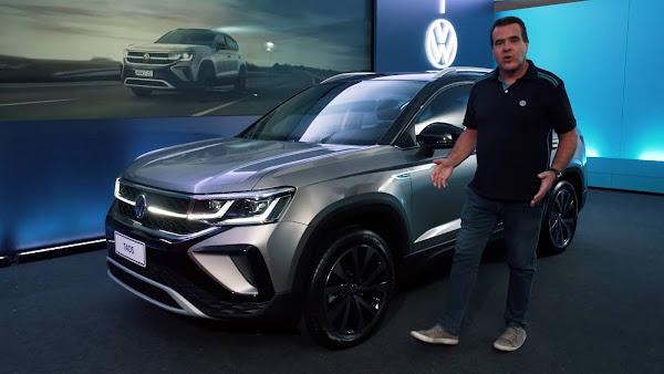 Volkswagen Taos Highline 2020: vídeo mostra versão top em detalhes