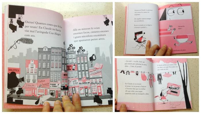 colección libros capítulos infantiles, claude de Alex T. smith interior