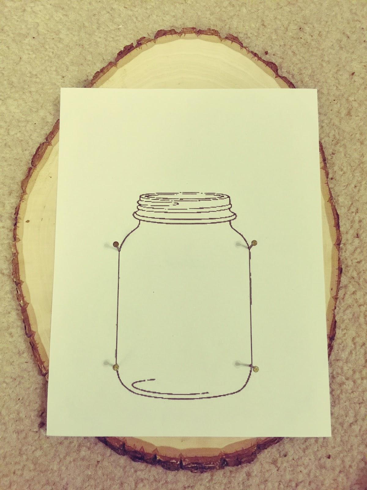 Dear Paradise Diy Mason Jar String Art