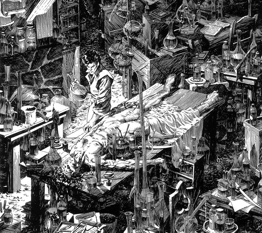 Frankenstein de marvel (1983)