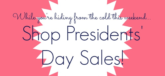 presidents' day weekend sales