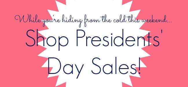presidents' day weekend sales