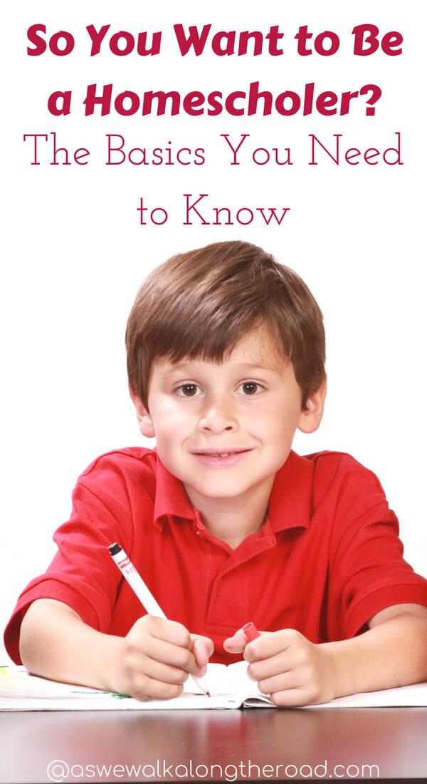 The basics for new homeschoolers