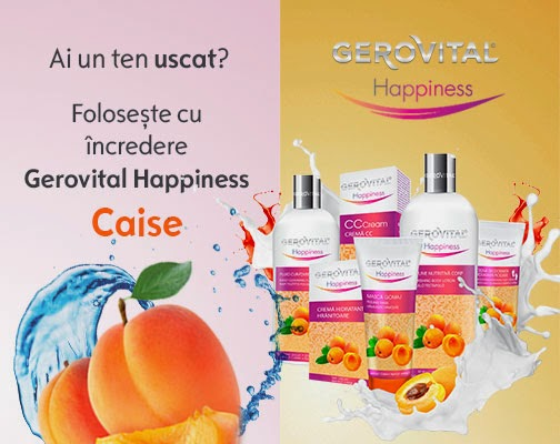 Gerovital Happiness de Caise - Ten uscat