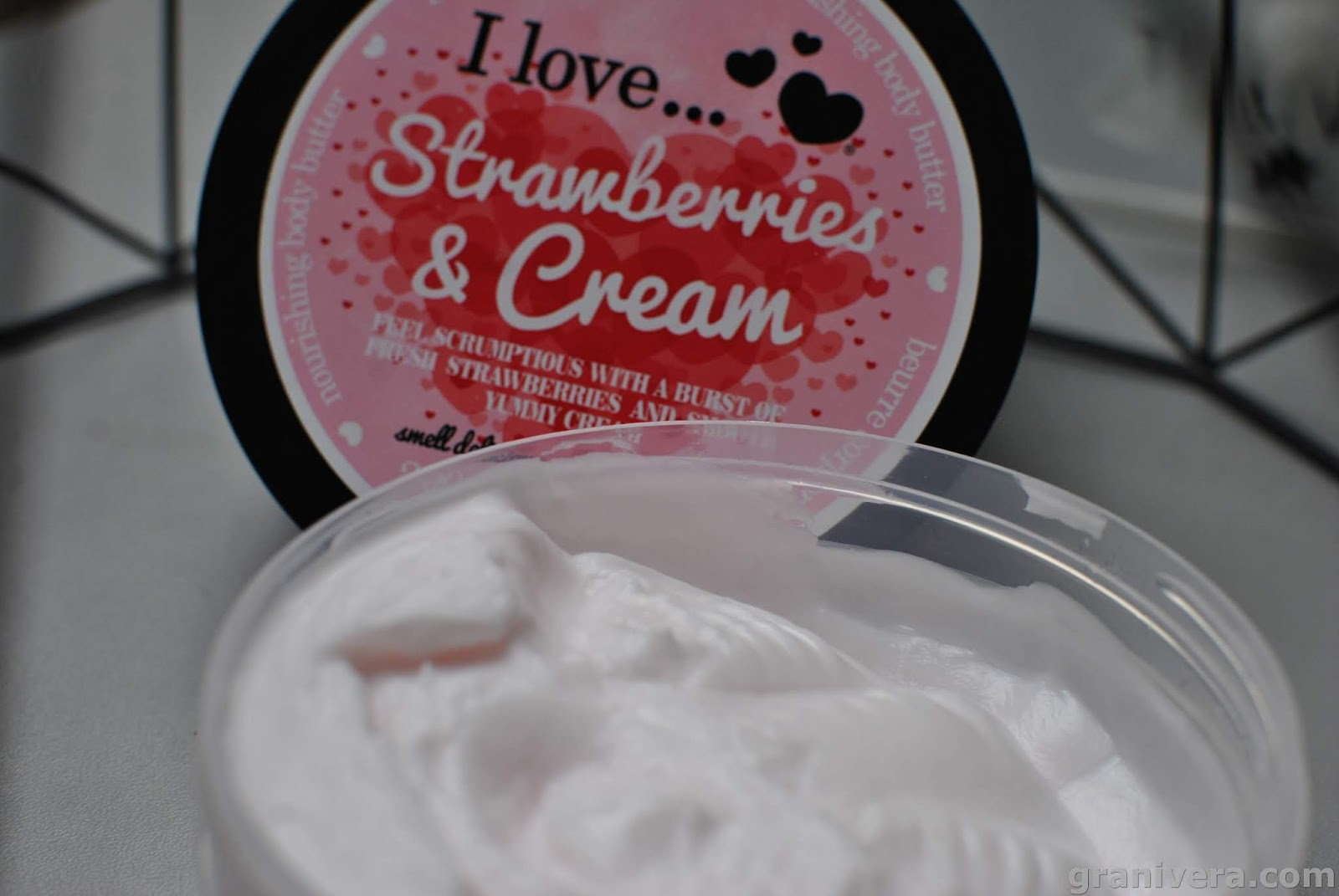 I Love... Cosmetics masło do ciała / Strawberries & Cream