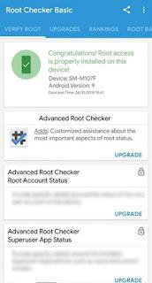 Cara Root HP Samsung Galaxy M10s SM-M107F