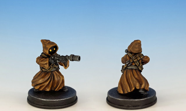 Jawa Scavenger, Imperial Assault (2017), painted miniature