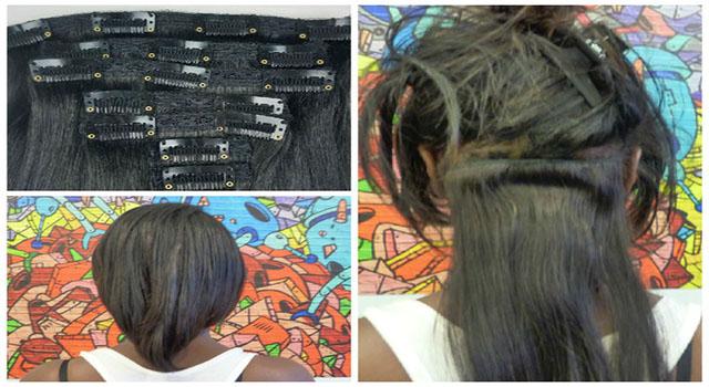 Beauté, astuce, femme, maquillage, noire, coiffure, cheuveux, Eyebrow, charme, tissage, Sénégal, Afrique : Greffage clipsé