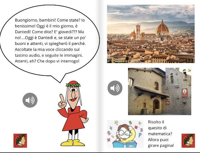 Dantedì Un ebook con BookCreator per la scuola primaria