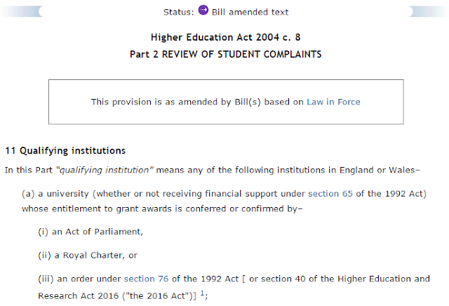 Image of Bill amended text from Westlaw UK