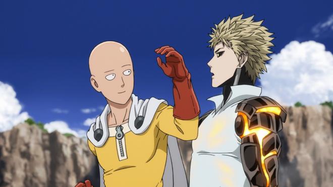Saitama dan Genos