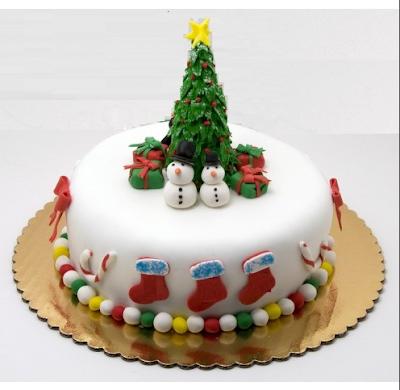 Christmas Tree Cake 2019