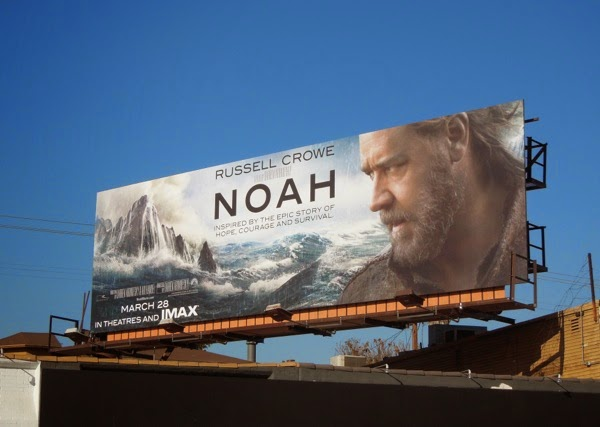 Noah movie billboard