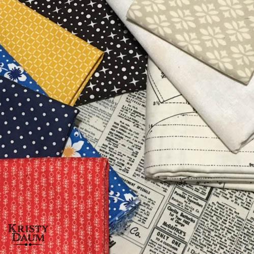 TopHop - Traveling Quilt Project // St. Louis Folk Victorian - Kristy Daum