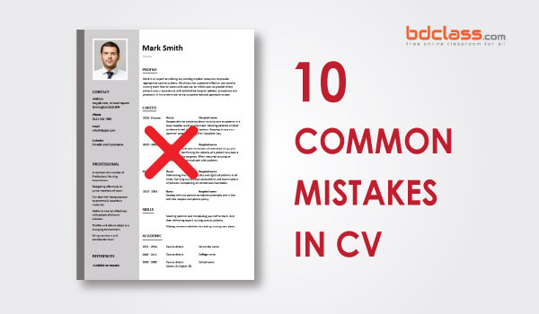 common cv mistakes to avoid
