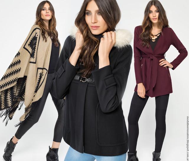 Moda invierno 2016 MAB. Ropa de mujer, vestidos, pantalones, blusas y abrigos invierno 2016.