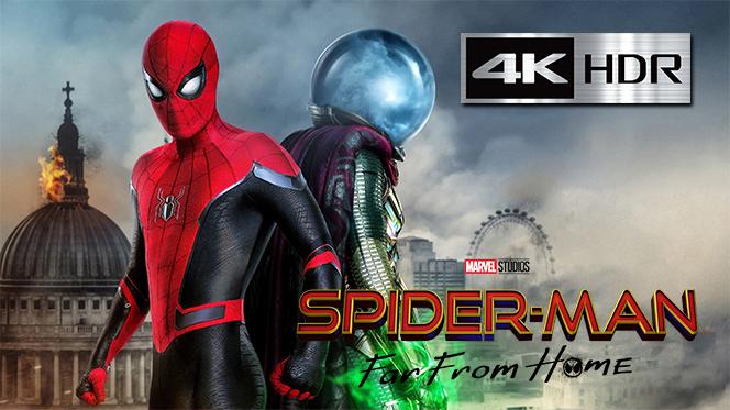Spider-Man: Lejos De Casa (2019) Web-DL 4K UHD [HDR] Latino-Inglés