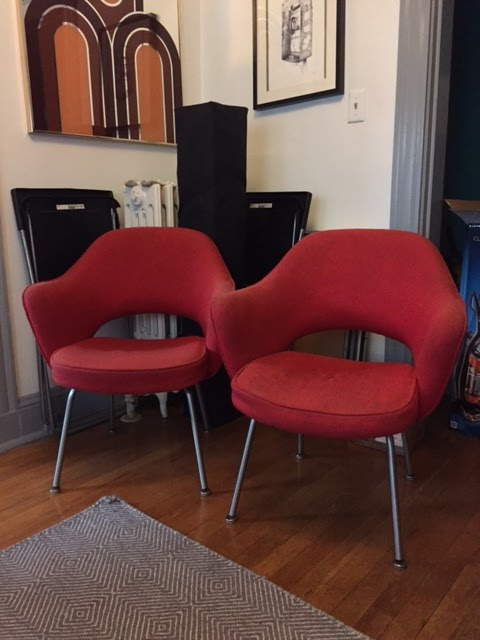Vintage Herman Miller Knoll Executive Chairs