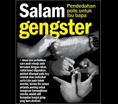 Pengumuman Rasmi Senarai Kumpulan Kongsi Gelap Di Malaysia