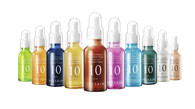 Tipos de serum power 10 formula de Its Skin