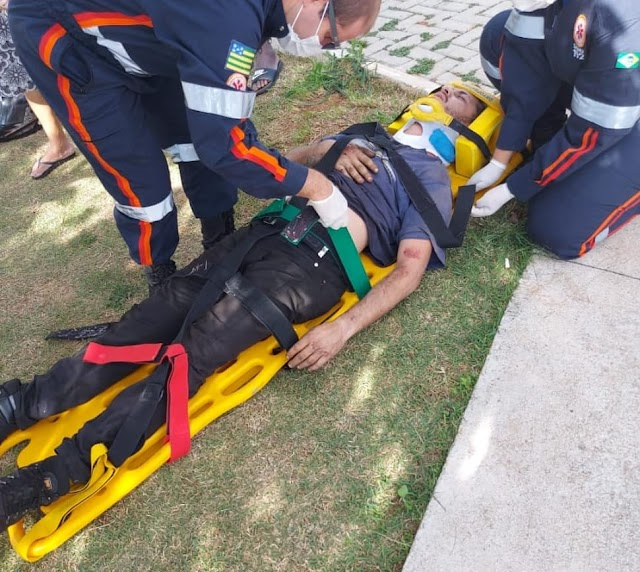 Anápolis: Grave acidente na Vila Formosa