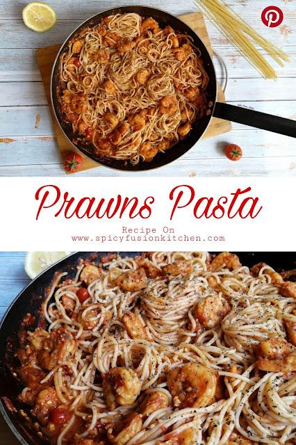 Prawns Pasta, prawns, pasta, Sicilian cuisine, Italian cuisine, pasta recipe, recipe, prawns recipe, prawns pasta recipe, food, food photography, food flatlay, spicy food, spicy fusion kitchen, botswana, food blog, food blogger, pinterest, pinterest food