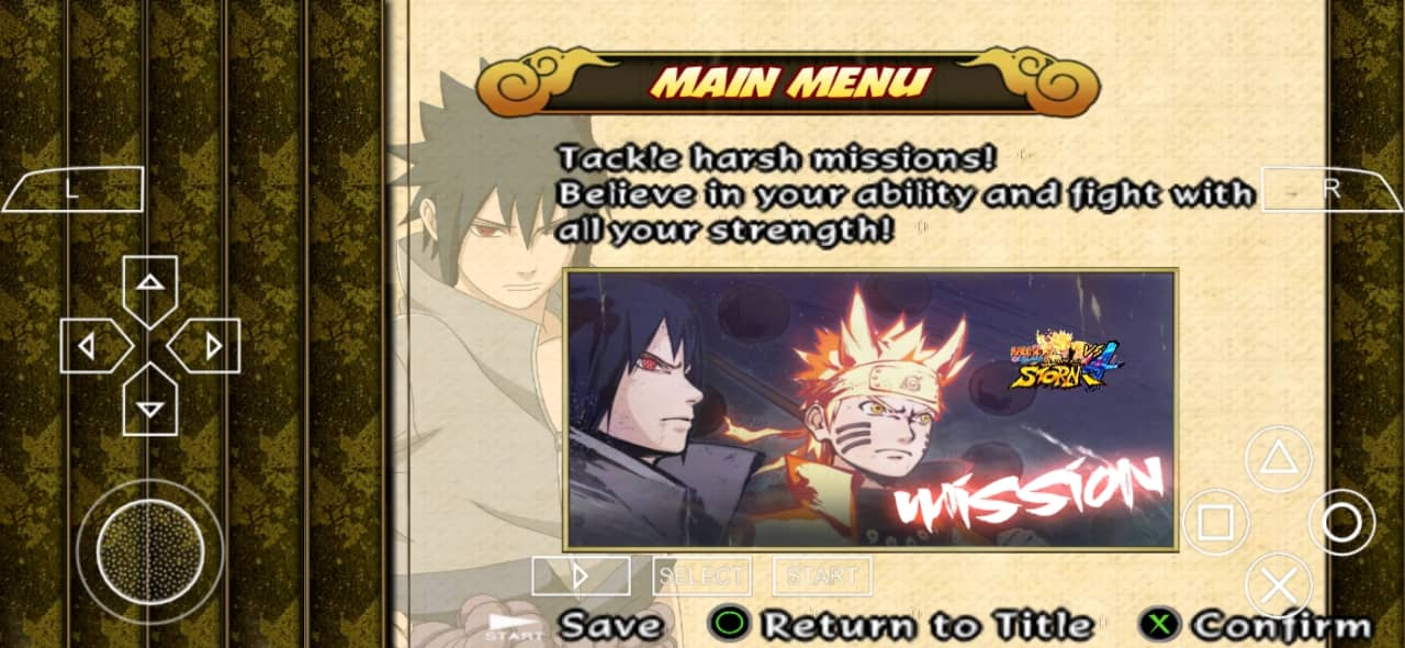 Naruto Ultimate Ninja Impact Mod PSP