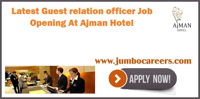 Guest Relation Officer Job