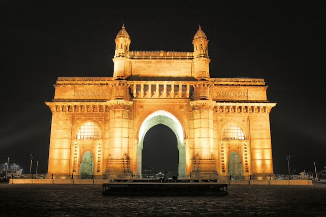 Gateway of India wallpapers at night