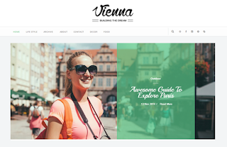 Vienna Blogger Template