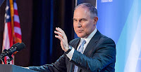 U.S. EPA Administrator Scott Pruitt favors reopening the endangerment finding on greenhouse gases, according to Robert Murray, CEO of Murray Energy Corp. (Credit: @EPAScottPruitt/Twitter) Click to Enlarge.