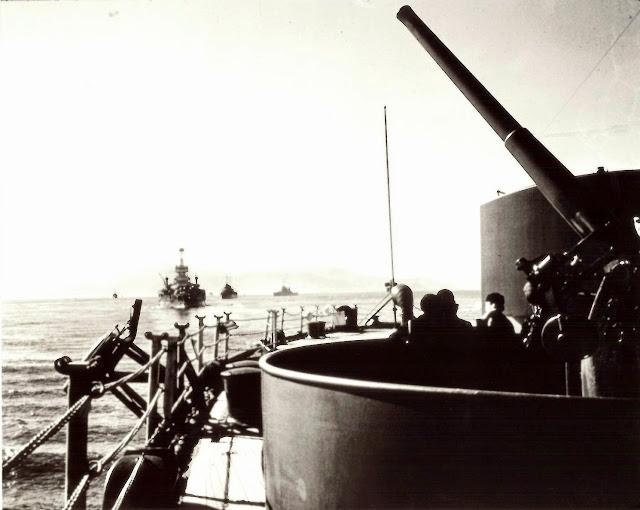 USS New York in Reykjavik Harbor, Iceland, 7 July 1941 worldwartwo.filminspector.com