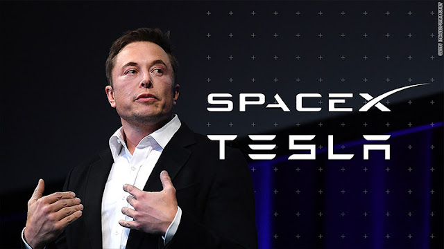 elon musk the owner of spacex and tesla