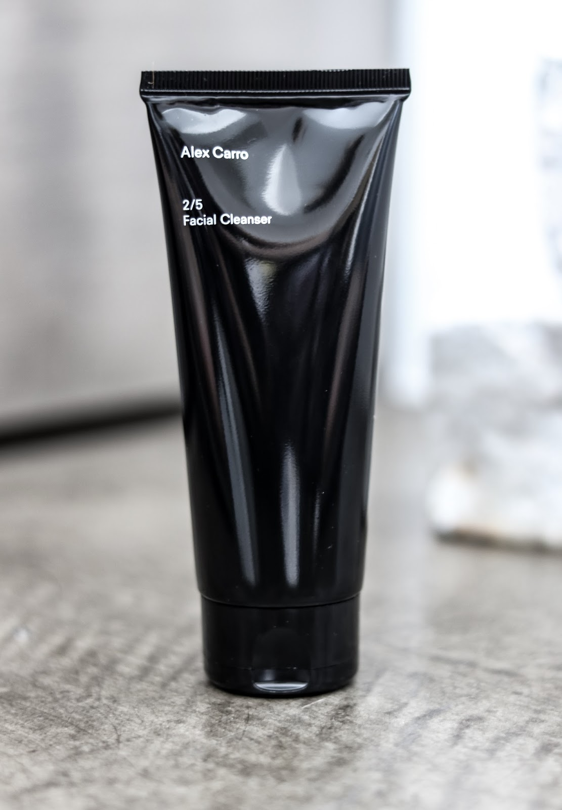 Facial Cleanser Alex Carro Minimal Skincare Review by Almost Chic Blog