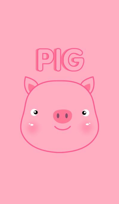 Super simple Cute Pig theme(jp)