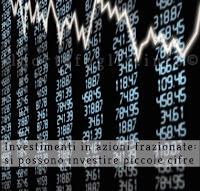 investimenti in azioni frazionarie
