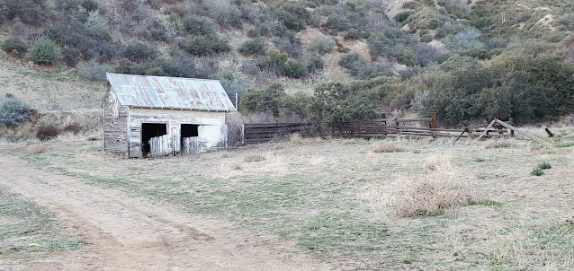 Old stable (?), Hunt Ranch, Wildwood Canyon State Park
