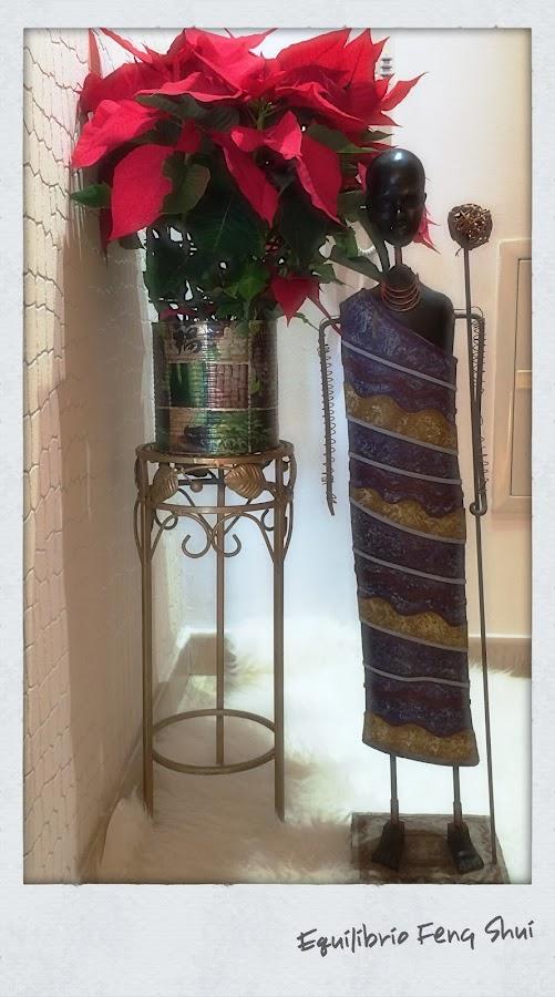 En la decoración navideña no puede faltar el color verde.