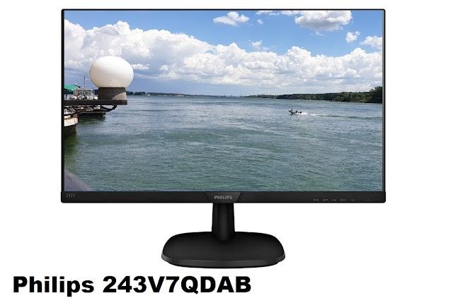 Philips 243V7QDAB IPS monitor
