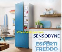 Logo Sensodyne ''Esperti del freddo'': vinci Frigoriferi Bosch