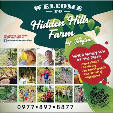 Hidden Hills Farm by Josefino, the new Agri-tourism haven at Calauan Laguna