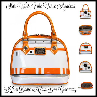 Star Wars: The Force Awakens BB-8 Dome and Coin Bag Giveaway