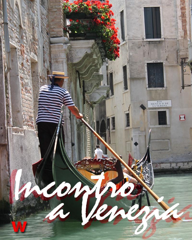 História romântica em Veneza