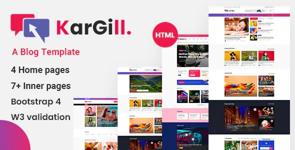 Best Blog, Magazine HTML Template