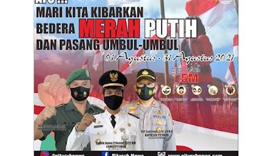 Pemerintah: Ayo pasang bendera Merah Putih 1-31 Agustus 2021!