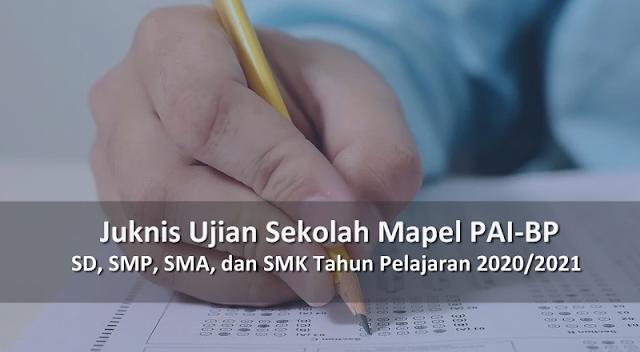 Juknis Ujian Sekolah PAI-BP