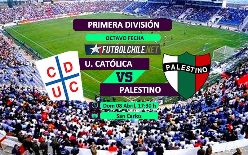 Universidad Católica vs Palestino: Previa, horario, dónde ver en vivo por TV y online por la Primera División